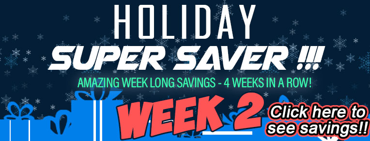 Holiday Super Sale!