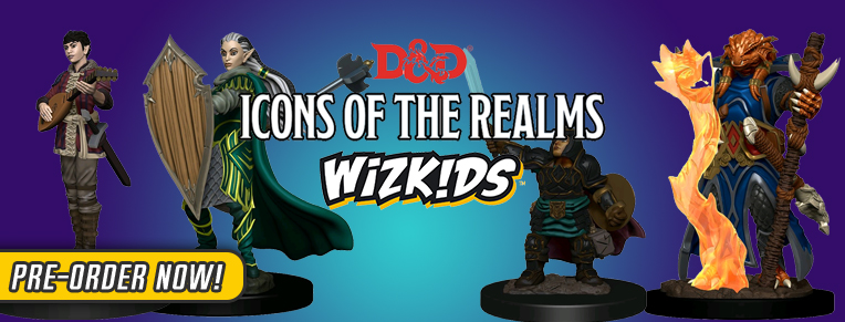 Icons of the Realms Miniatures
