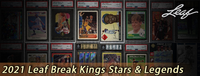 2021 Leaf Break Kings Stars & Legends