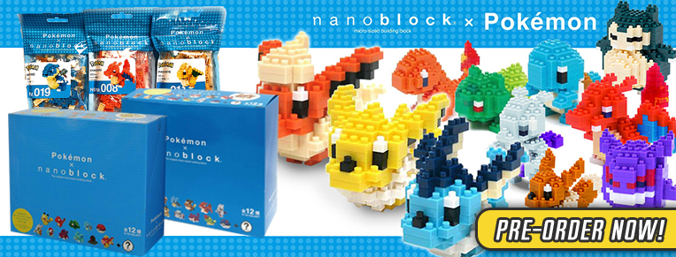 Nanoblock Pokemon Series