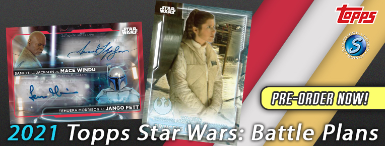 2021 Topps Star Wars Battle Plans