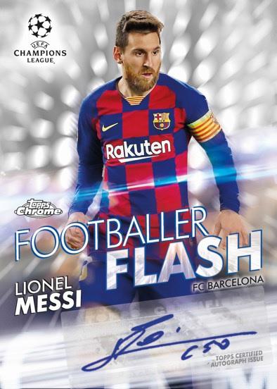 2020 Topps UEFA Champions League Chrome Soccer ...