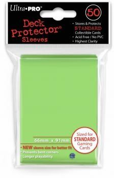 Light Blue Solid 50ct Ultra Pro Deck Protector Sleeves Pack