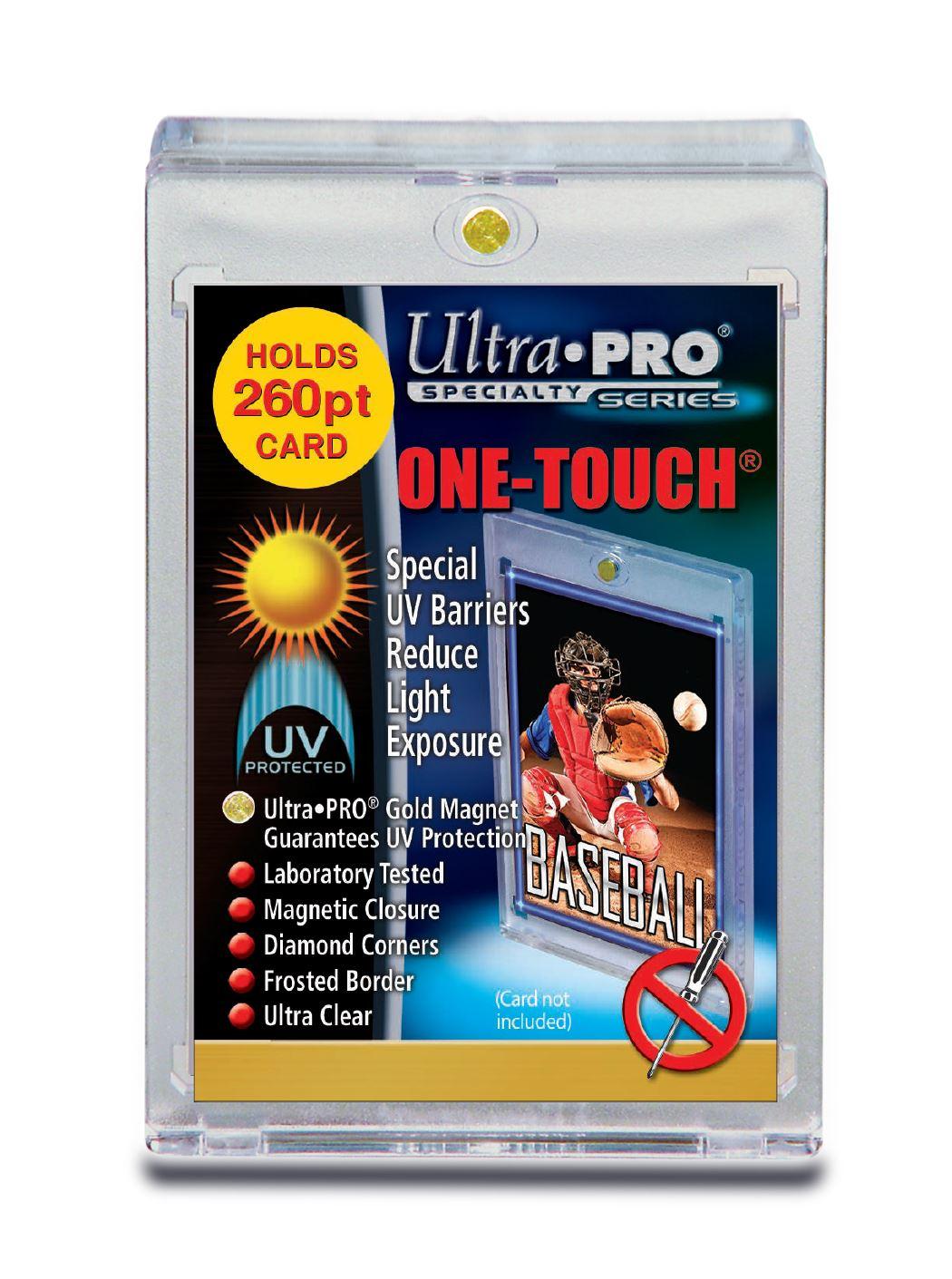e03da7e9484 Ultra Pro 260Pt One Touch Holder - ULPOT84733