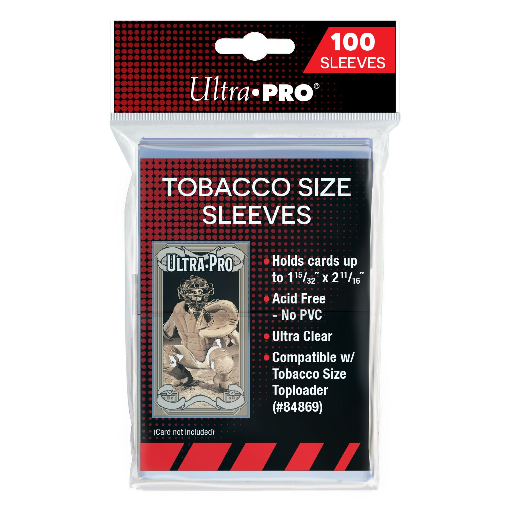 Ultra Pro Horizontal Booklet One-Touch Resealable Bags Sleeves 50 // 1 Pack