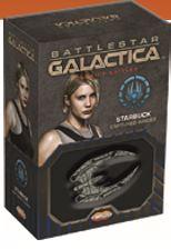 Battlestar Galactica: Starship Battles Spaceship Pack: Starbucks Cylon Raider Ares Games AREBSG102B