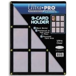 0f3249d1dde Ultrapro Black Screwdown 9-Card Holder Ultra Pro ULPSD81204