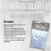 Wings Glory Bag of 24 Bomber Flight Stands