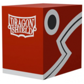 Dragon Shield Double Deck Shell Red Black