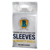 Beckett Shield Standard Card Soft Sleeves