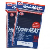 KMC Sleeves USA Pack Hyper Matte Blue 100-Count