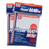 KMC Small Sleeves USA Pack Hyper Matte White 60-Count