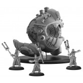 Prime Artificer Nemo & Arcane Mechaniks - Mercenary Battle Engine (metal/resin)