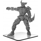 Monsterpocalypse - Mecha-Maxim - Uber Corp International Monster (metal/resin)