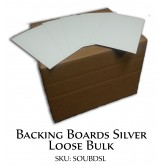 Backing Boards Silver Loose Bulk
