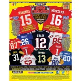 2020 Tristar HT Game Day Greats Autographed Football Jersey