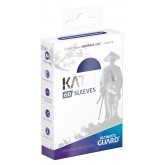 Ultimate Guard Sleeves Japanese Katana Blue 60-Count