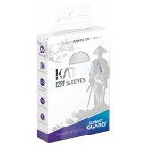 Ultimate Guard Sleeves Japanese Katana White 60-Count