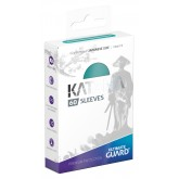 Ultimate Guard Sleeves Japanese Katana Turquoise 60-Count