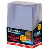 "Ultrapro 3 X 4"" Super Thick Toploader (130Pt)"""